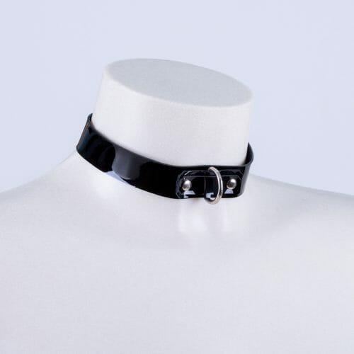 "Collar "" Patent"" charol"