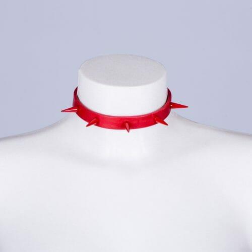 """Collar """"Nail"""" rojo"""