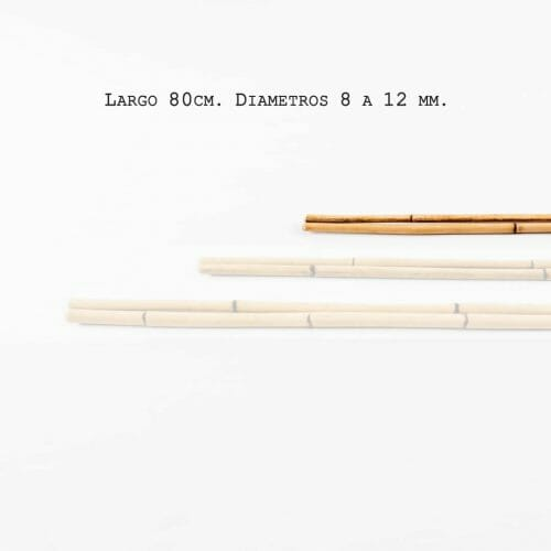 Cane natural / 80 cm / 8-12 mm